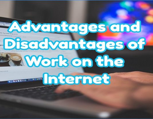 What Advantages and Disadvantages of Work on the Internet