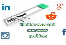 Fix the www and non www problem of your blog. Increase page rank