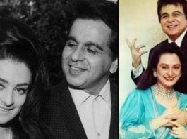 What is a fact about Dilip Kumar and Saira Banu that very few people know?